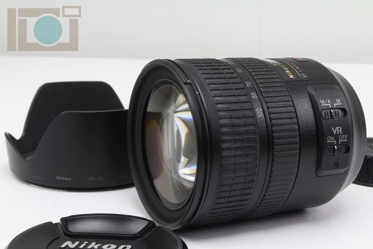 2019年10月02日に一心堂が買取したNikon AF-S VR Zoom Nikkor ED 24-120mm F3.5-5.6G IF