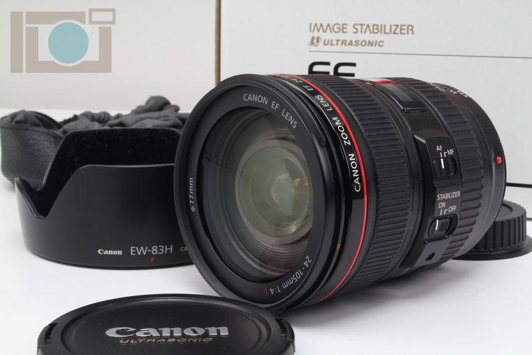 2019年10月17日に一心堂が買取したCanon EF 24-105mm F4L IS USM