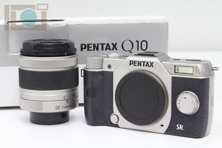 2020年02月23日に一心堂が買取したPENTAX Q10 ズームレンズキット シルバー