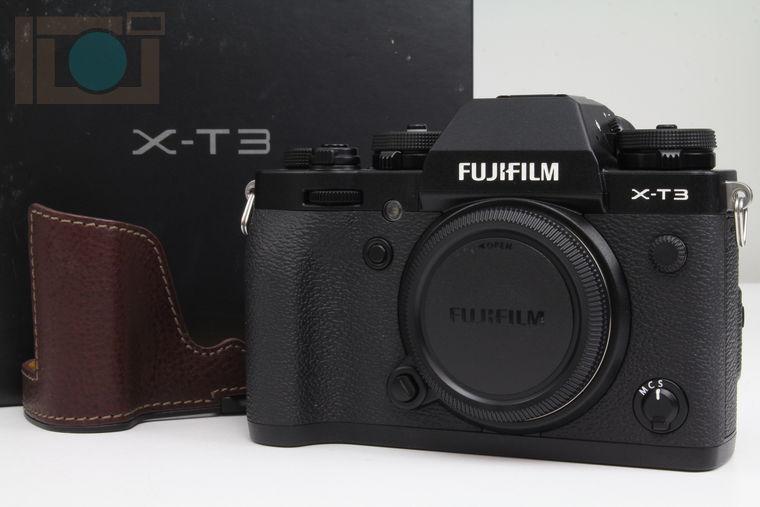 2020年05月12日に一心堂が買取したFUJIFILM X-T3 ボディ ブラック