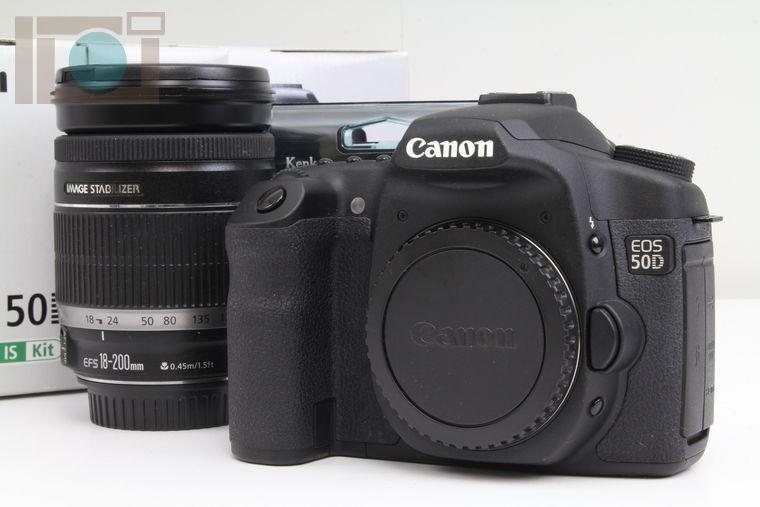 2020年05月18日に一心堂が買取したCanon EOS 50D EF-S18-200 IS レンズキット