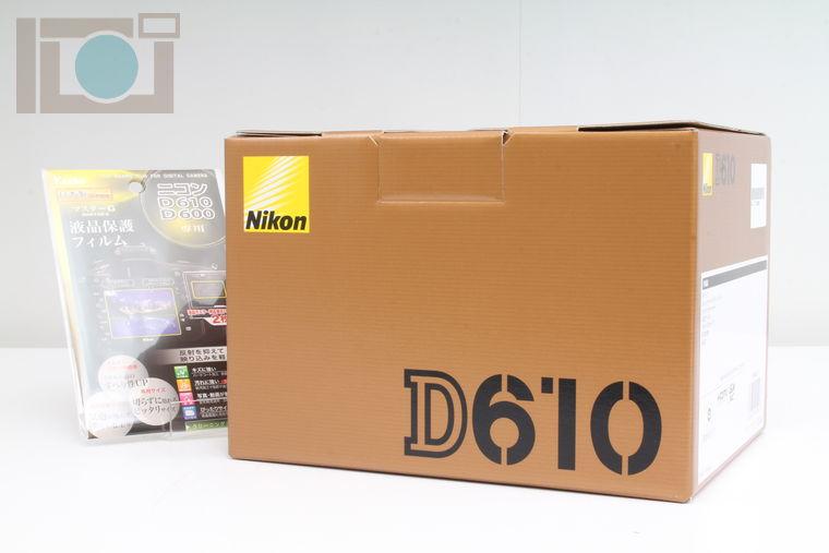 2020年05月20日に一心堂が買取したNikon D610 ボディ